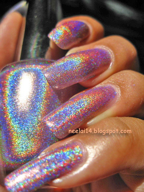 Bsj Holographic Nail Polish 2 3 Coats