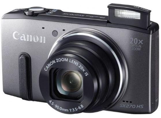 Harga dan Spesifikasi Canon PS-SX270 - 12 MP