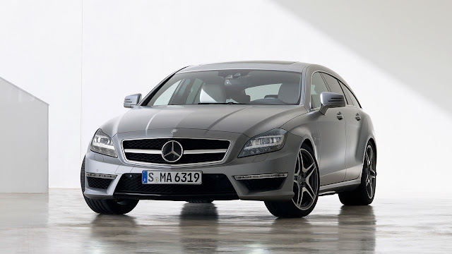 Mercedes-Benz CLS 63 AMG Shooting Brake: The performance trendsetter front