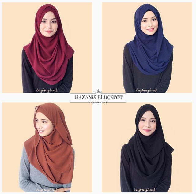 Awatt senang jaaaaa diorang pakai shawl ni. Dah la cun!☺️