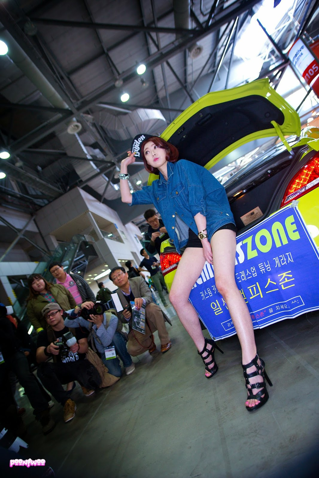 2 Na Young - Automotive Week 2014 - very cute asian girl-girlcute4u.blogspot.com
