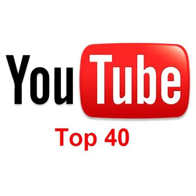 Capa Youtube Top 40 Youtube Top 100 Week 40 (1th October 2012)  MÚSICA