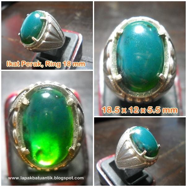 BC67- Batu Bacan Hijau Cincau Kristal... Mantab bro !!!_SOLD