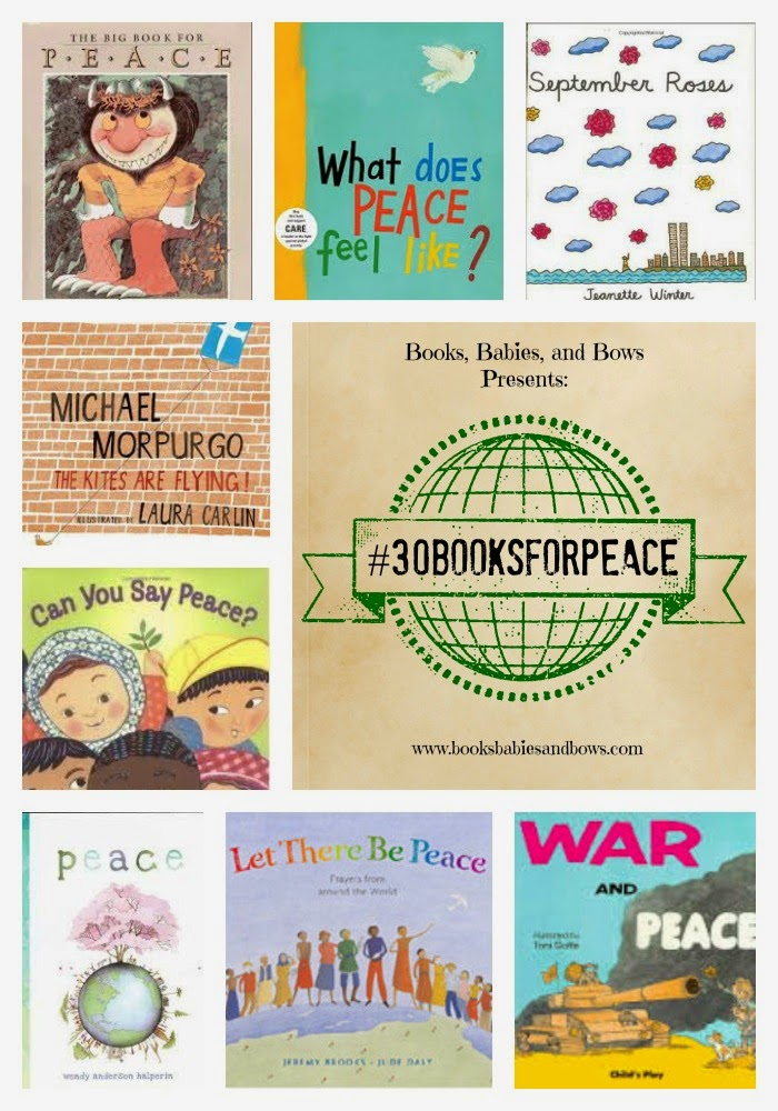 http://www.booksbabiesandbows.com/2014/08/30booksforpeace-part-2-war-and-peace.html