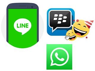 3 Aplikasi Chatting di Ponsel Terpopuler