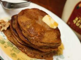 Pioneer Pumpkin Pancakes