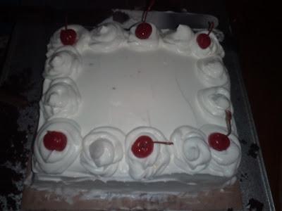 Black Forest Cake with Chocolate Ganache