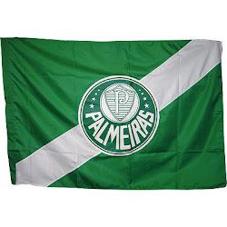 A Bandeira do time do meu coração o Palmeiras