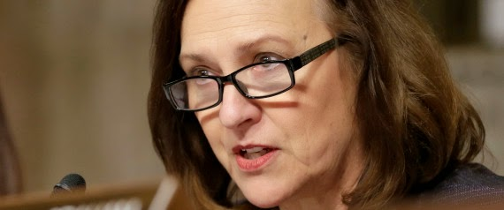 Sen. Deb Fischer led a group of 53 senators asking the EPA to extend the comment period on draft rules for carbon dioxide emissions from power plants.  (Credit: J. Scott Applewhite, File | Associated Press) Click to enlarge.