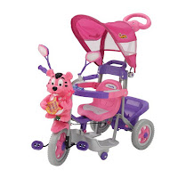 Sepeda Roda Tiga Family F9922L Macan Kanopi