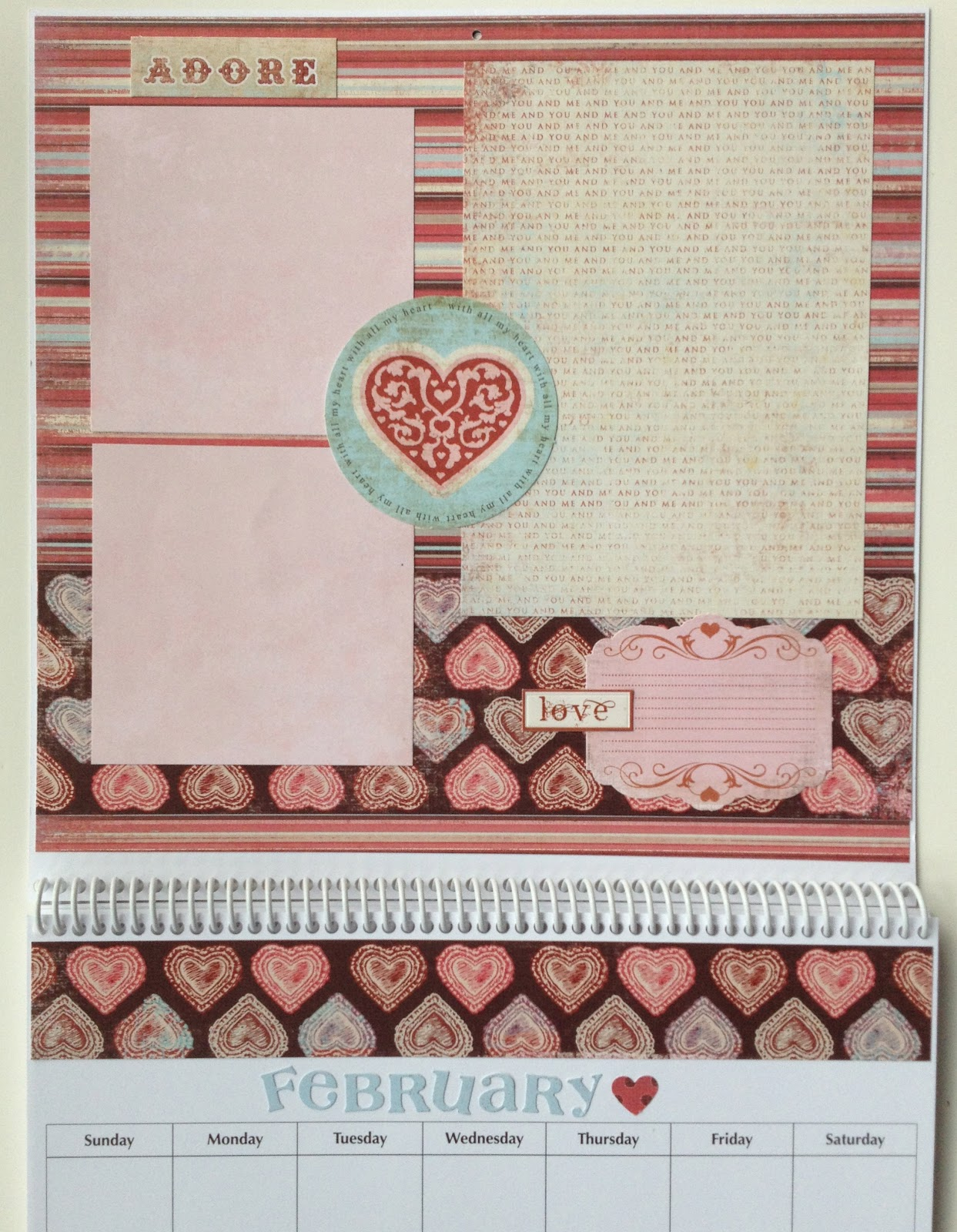 Scrapbook ideas calendar pages - Monthly Themes Can Be Changed If One Or More Suggested Ideas Are Not Appropriate Calendar Layouts Will Differ From