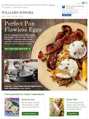 Click to view this Mar. 28, 2011 Williams-Sonoma email full-sized