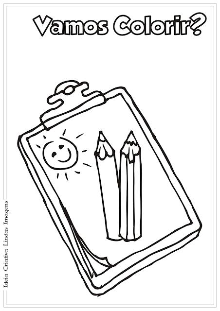 Planilha desenho para colorir