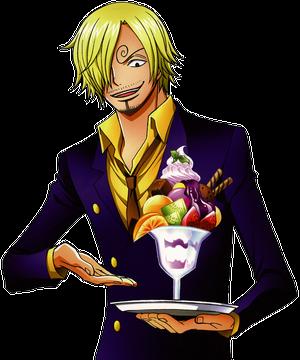 Kawaii Desu: Discrição One Piece Zoro Vs Sanji