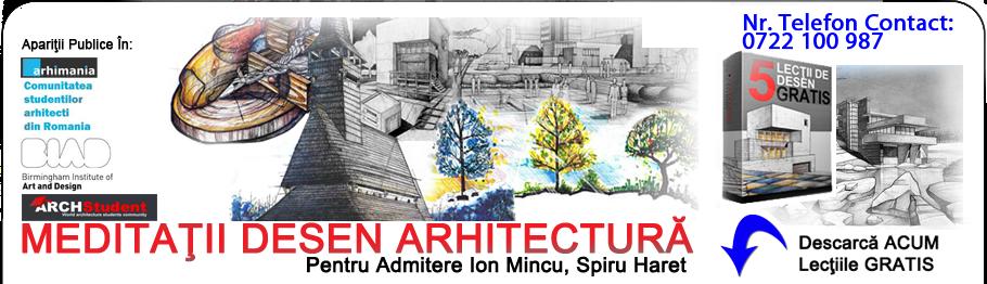 Meditații Desen Arhitectură