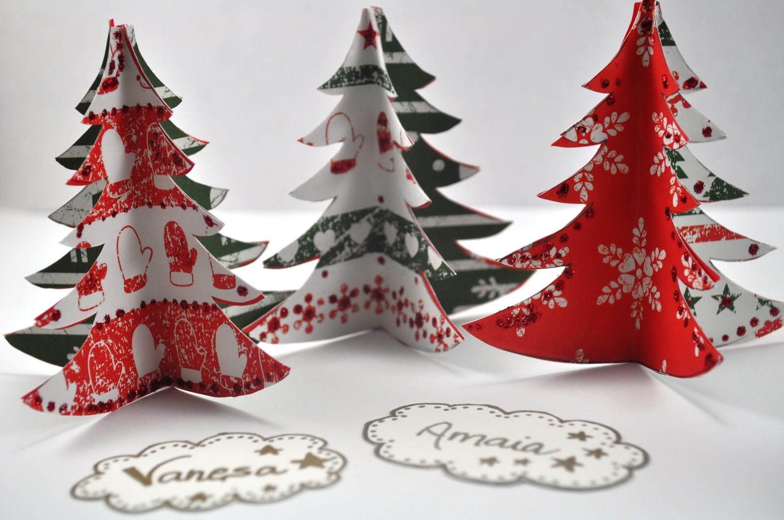 Rbol de navidad christmas tree entre papeles y galletas - Como hacer adornos para navidad ...