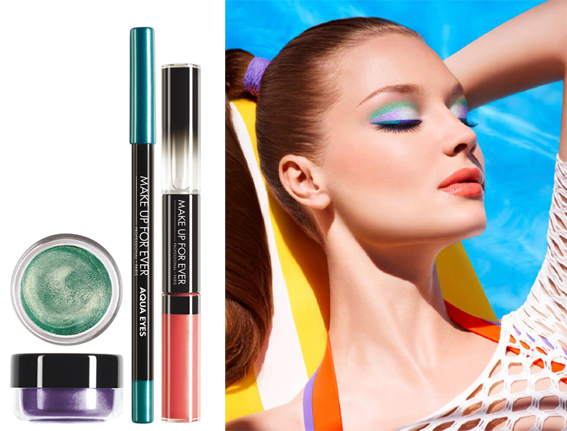 Nouveautés Make Up For Ever : Collection Aqua 2013