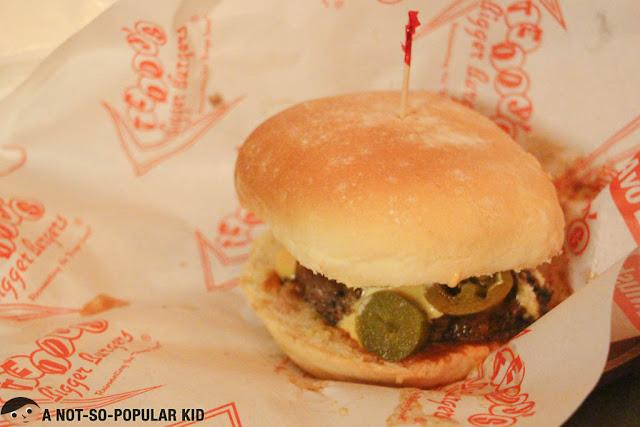 Diablo Burger - Teddy's Bigger Burgers