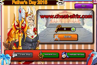 Cheat Father Mother Day Ninja Saga 2015