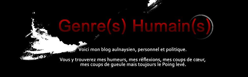 Genre(s) Humain(s) : le Blog d'Erwan BAETE