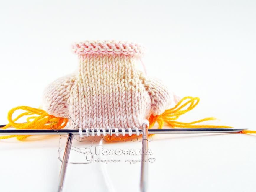 вязать свитер дальше по