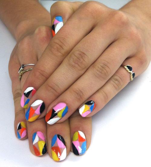 nails nail Ideias de Unhas para a Primavera