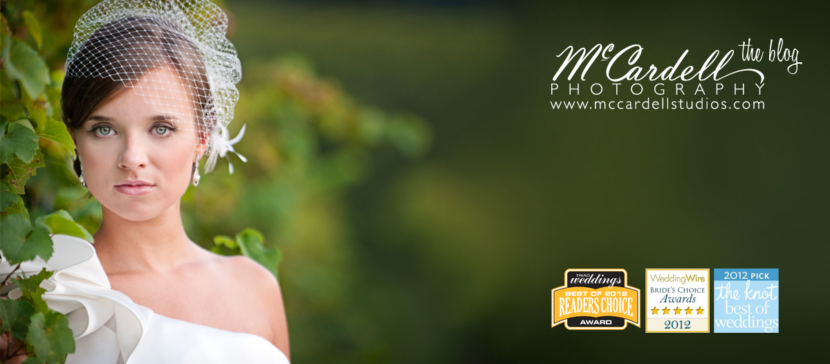 McCardell Photography - NC Weddings and portraits  - Greensboro, Raleigh, Charlotte