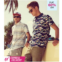 Fashionandyou  : Jack & Jones Men's Clothing 60% off + 20% off + 30% cashback