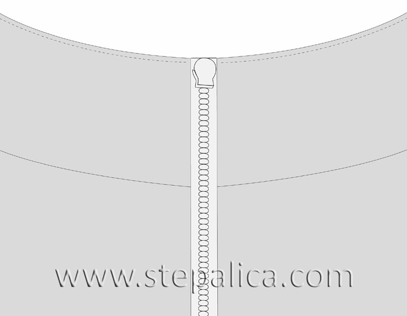 Stepalica Patterns: The Zlata skirt - the pattern in making