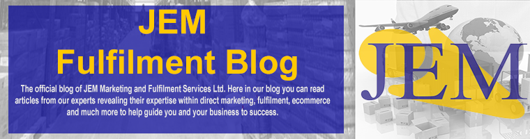 JEM Fulfilment and Marketing Services Ltd. Blog