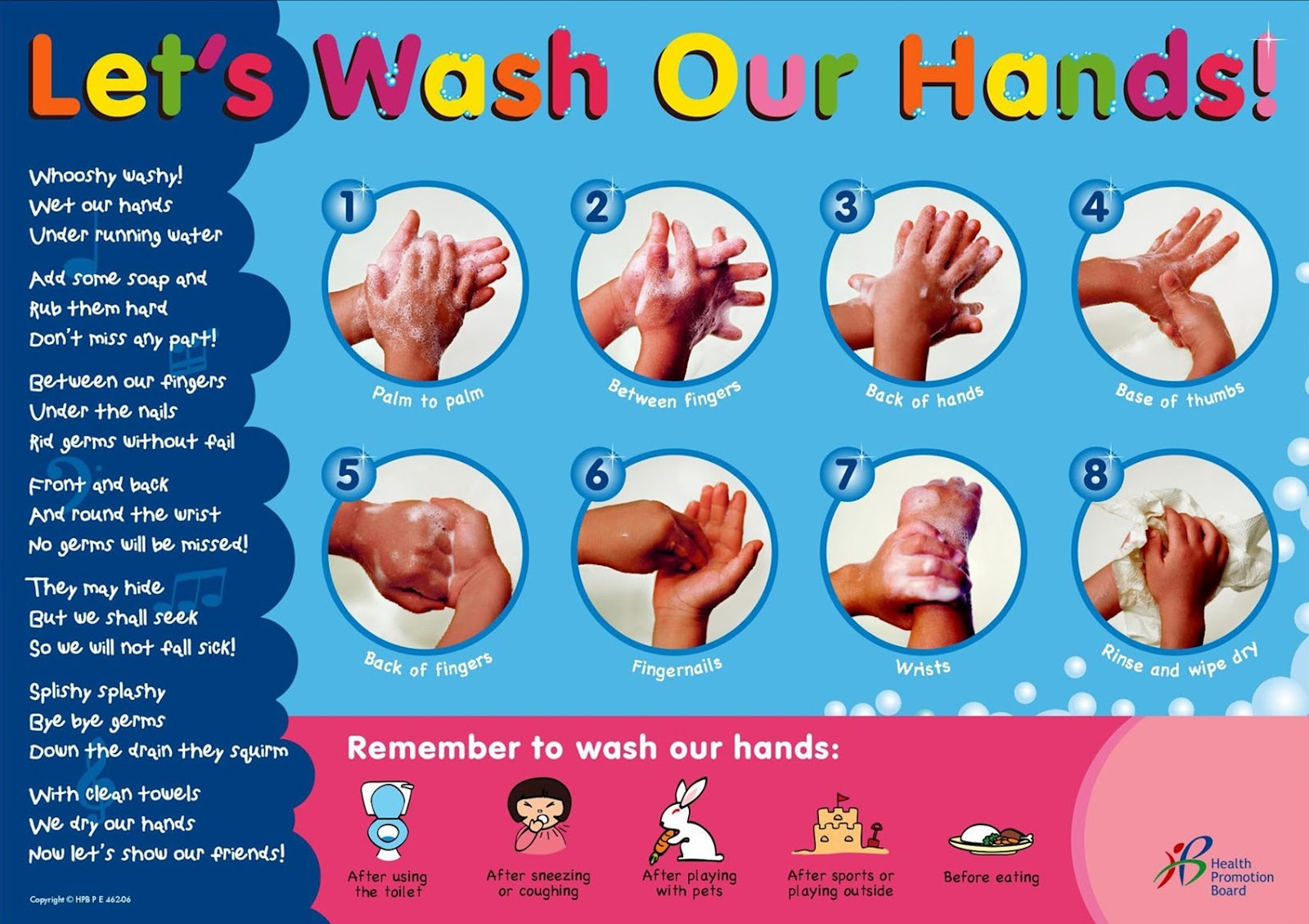 Ms. Kim's Class Blog: Proper Hand Washing