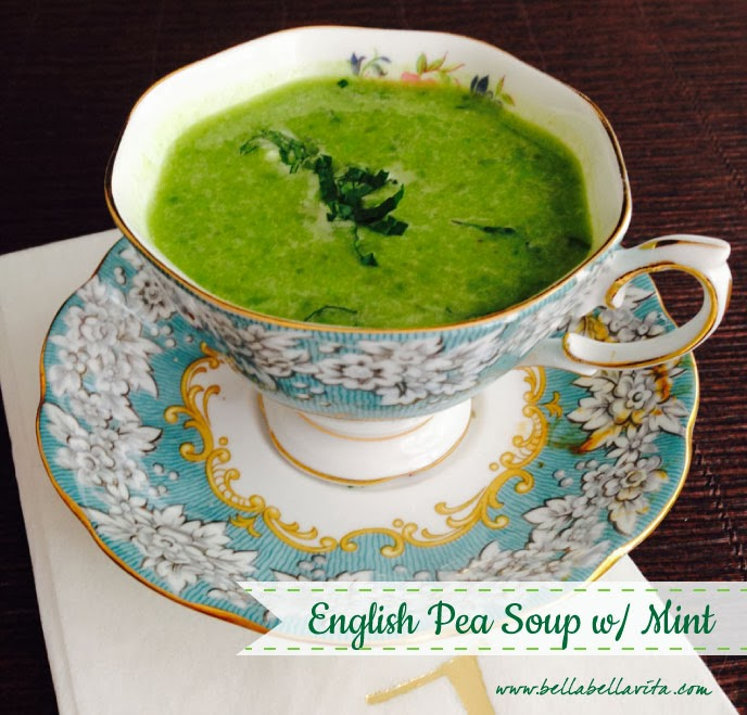 English pea soup with Mint