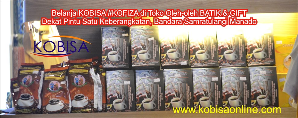Belanja KOBISA #KOFIZA di Toko Oleh-oleh BATIK & GIFT