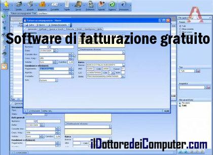 Il dottore dei computer software di fatturazione gratuito for Software di architettura gratuito online