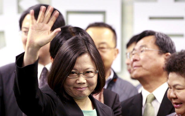 China Tolak Akui Hasil Pemilu Presiden Taiwan
