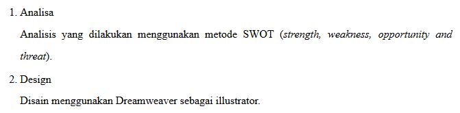 List dengan judul tanpa text-indent