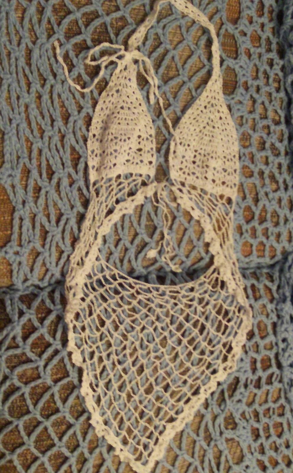 Paper Doll Eve Crochet Lingerie Lace Top