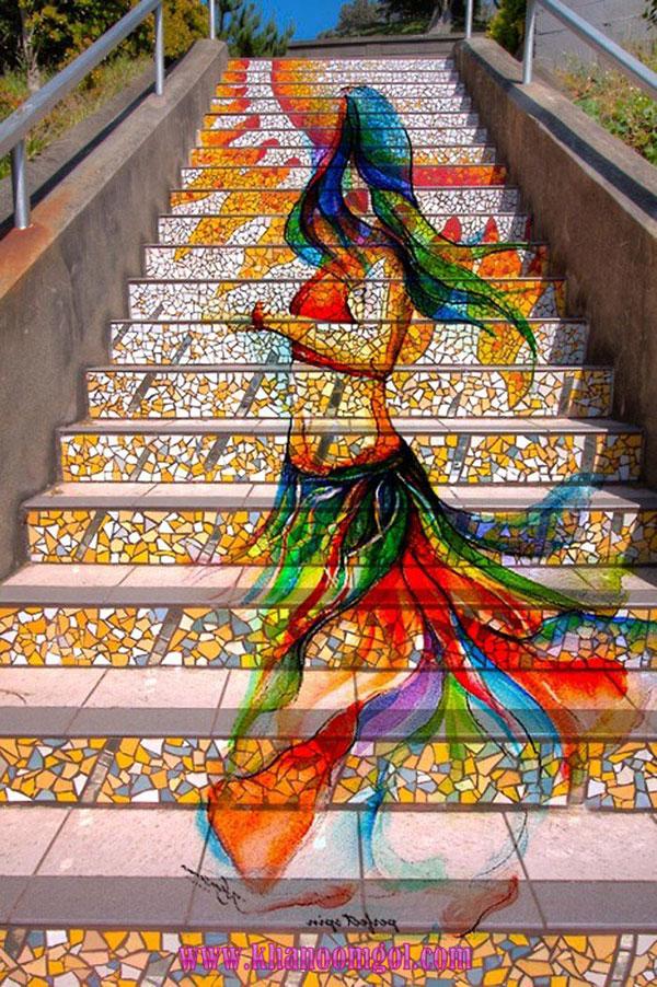 Esto son escaleras y lo demas tonterias Genius