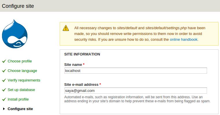 site-information-drupal