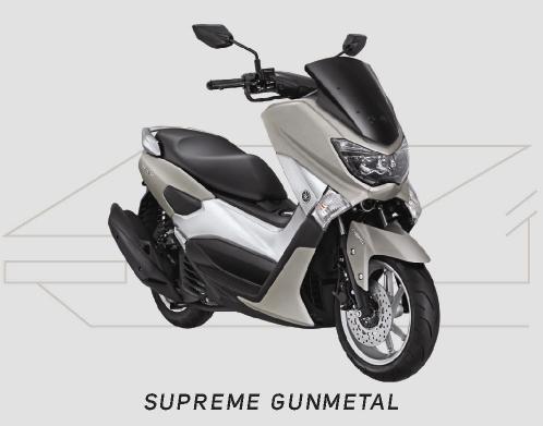 Yamaha NMAX Warna Supreme Gunmetal
