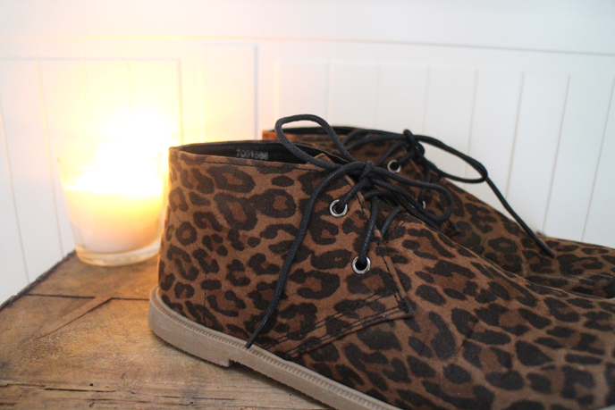 Primark Leopard Print Desert Boots