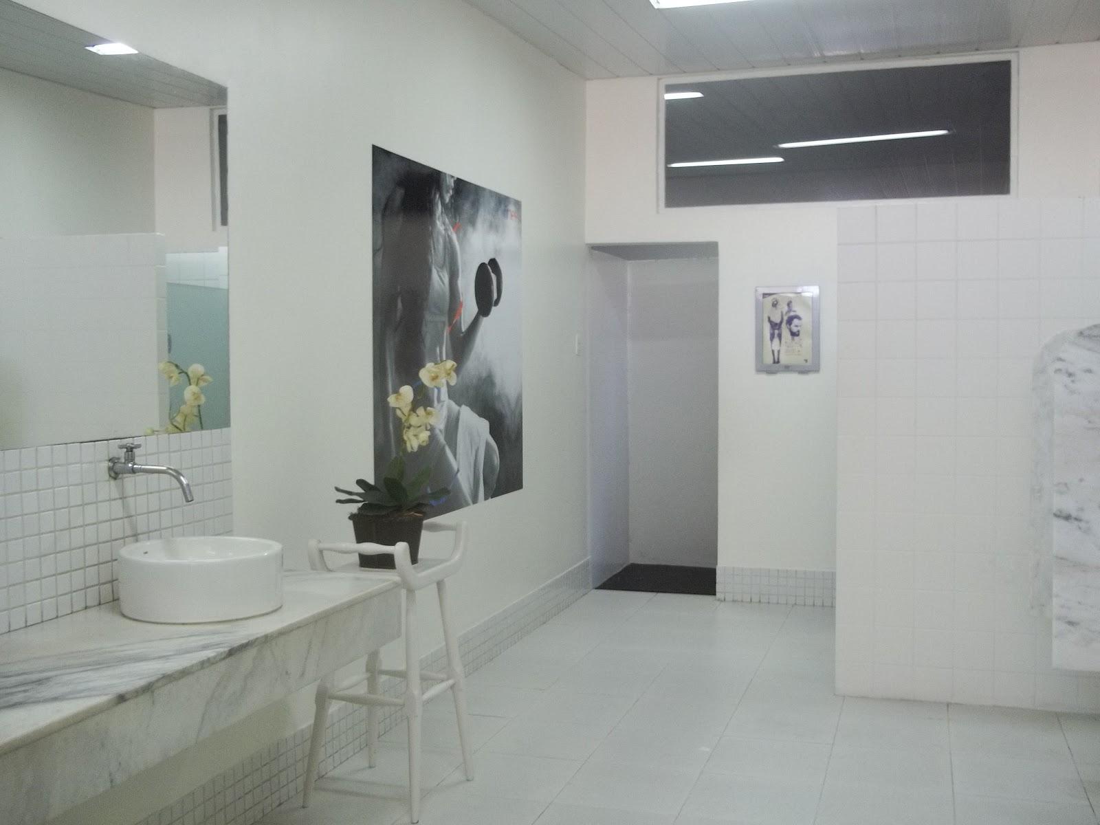 depois banheiro masculino depois banheiro masculino antes banheiro  #60666B 1600 1200