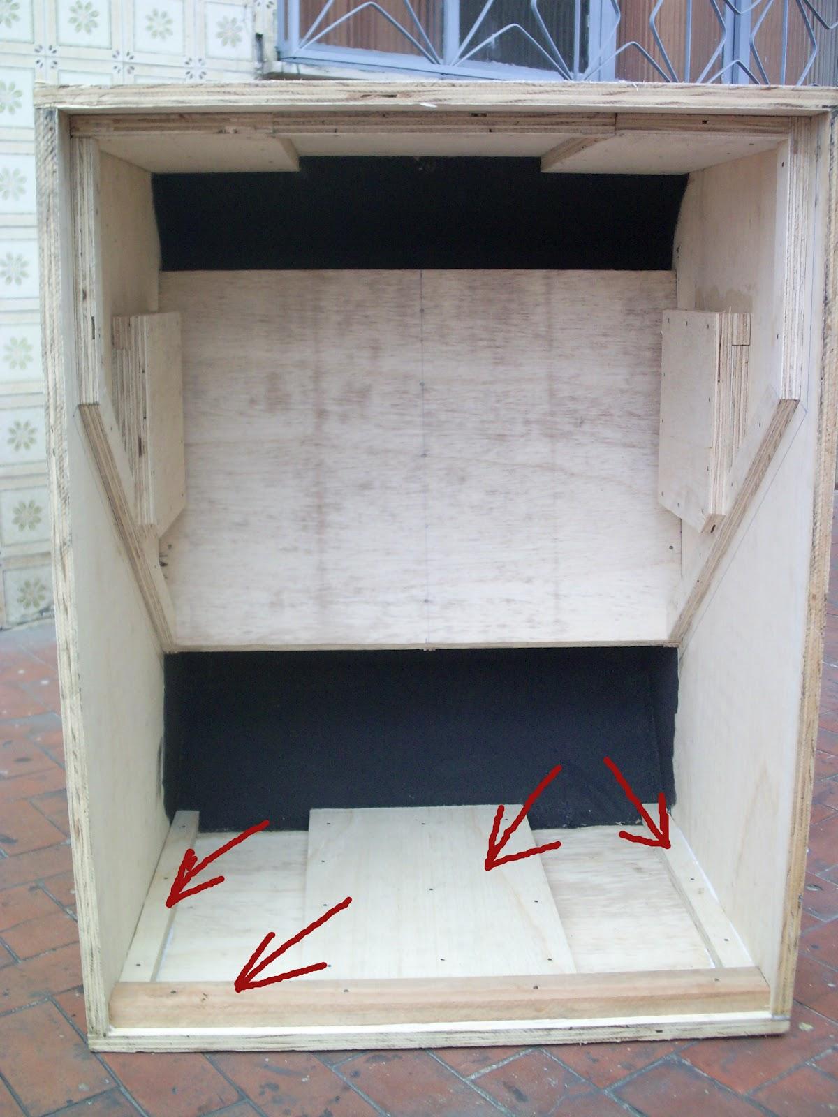Gabinete Caixa De Som 18 Polegadas Grave Car Interior Design #7A332F 1200x1600