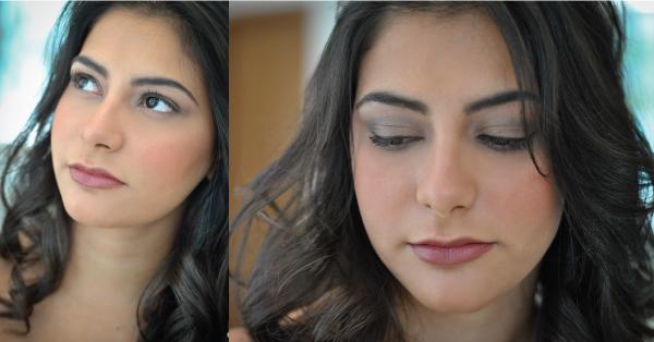 Bárbara Urias - maquiagem básica para o dia-a-dia - Por Hugo Martins do salão Platinum Visage