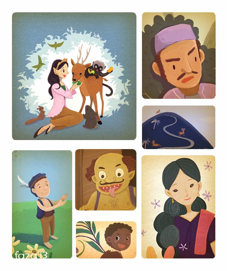 Buku Cerita Rakyat Nusantara yang disusun oleh saya :)