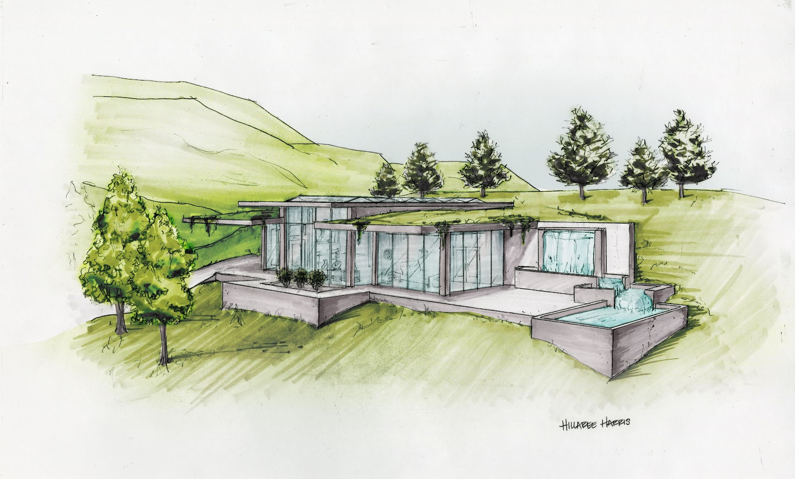 Barrier Free Passive Solar Home