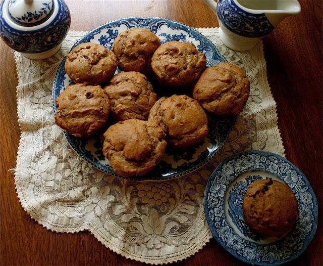 Peanut Butter, Chocolate Chip & Spelt Mmm…muffins