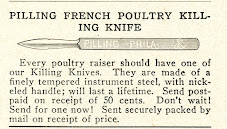 Reflections On The<br>French Poultry Killing Knife
