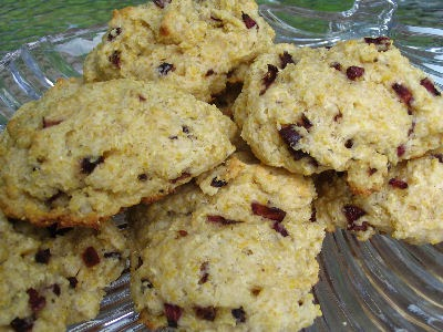 Cherry Cornmeal Scones | Lisa's Kitchen | Vegetarian Recipes | Cooking ...