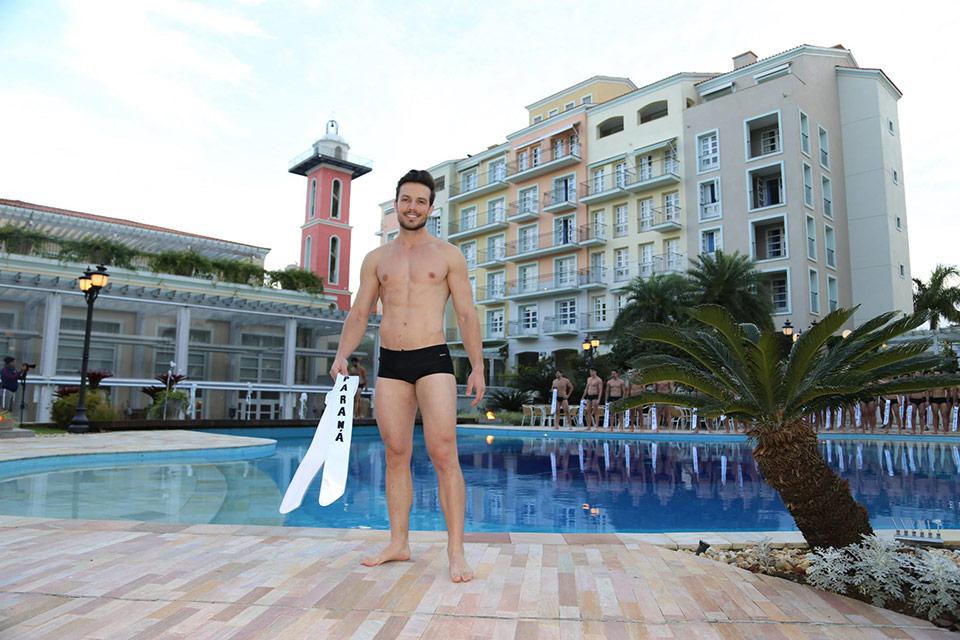 Mister Paraná - Renan Marconi, 26 anos, 1,81 m - Foto: Leonardo Rodrigues